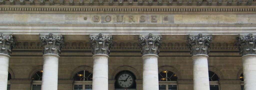 Le palais Brongniart, symbole historique de la Bourse de Paris depuis 1825 (photo © GPouzin)