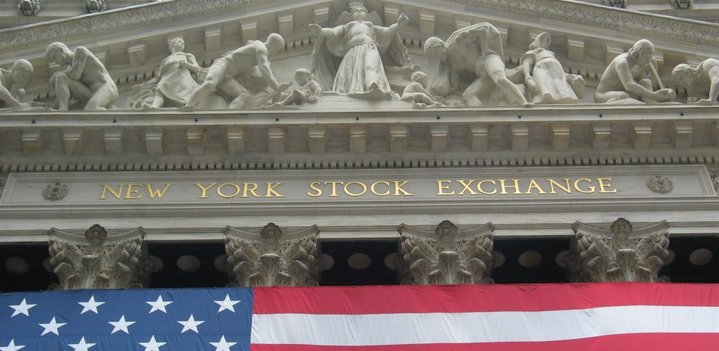 A Walll Street, palais de la Bourse du New York Stock Exchange (photo © GPouzin)