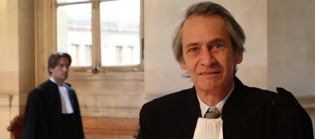 Maître Francis Terquem intervient en soutien des victimes du Cref, lors du procès pénal de ses ex-dirigeants. (photo © GPouzin)