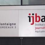 Une session de journalisme financier était animée par Gilles Pouzin à l'Institut de Journalisme Bordeaux Aquitaine (photo © GPouzin)