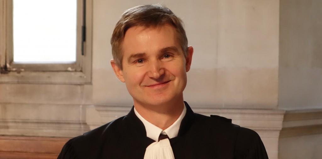 Maître Nicolas Lecoq-Vallon, avocat des épargnants victimes de promesses trompeuses, ici lors du procès du Cref (photo © GPouzin)