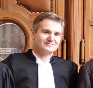 Maître Nicolas Lecoq-Vallon, avocat. (photo © GPouzin)