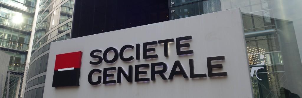 Au siège de la Société générale, à La Défense (photo © GPouzin)