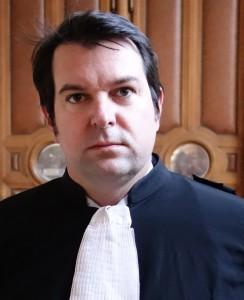 Maître Yann Le Bras, avocat du liquidateur de la mutuelle qui gérait le Cref, chargé d'indemniser les victimes avec les actifs récupérés (photo © GPouzin)