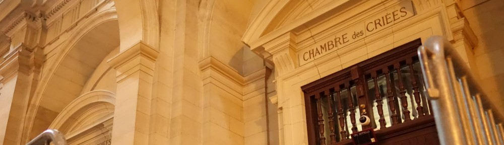 Karine benadava for Chambre correctionnelle paris