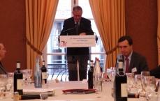 Le gouverneur de la Banque de France, Christian Noyer, s'attaque à l'épargne réglementée, dans son discours aux 23èmes rencontres parlementaires sur l'épargne. (photo © GPouzin)