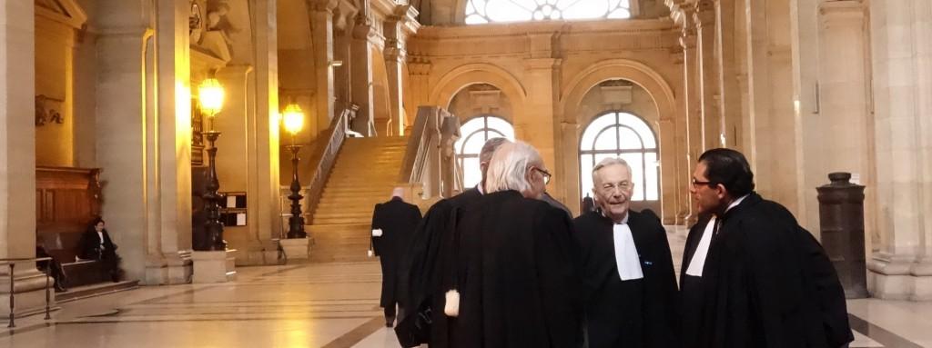 Des avocats confrontent leurs analyses sur les fraudes des dirigeants d'Altran jugés devant la 11ème chambre criminelle de la Cour d'appel de Paris. (photo © GPouzin)