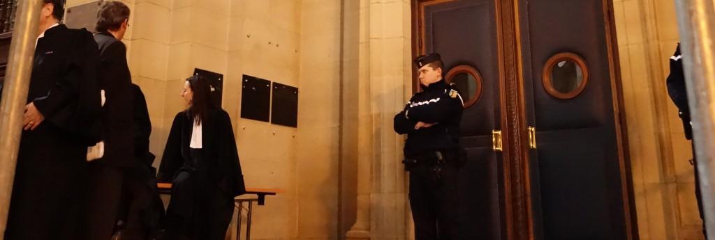 Vigilance renforcée pour juger les fraudes des dirigeants d'Altran devant la 11ème chambre criminelle de la Cour d'appel de Paris. (photo © GPouzin)