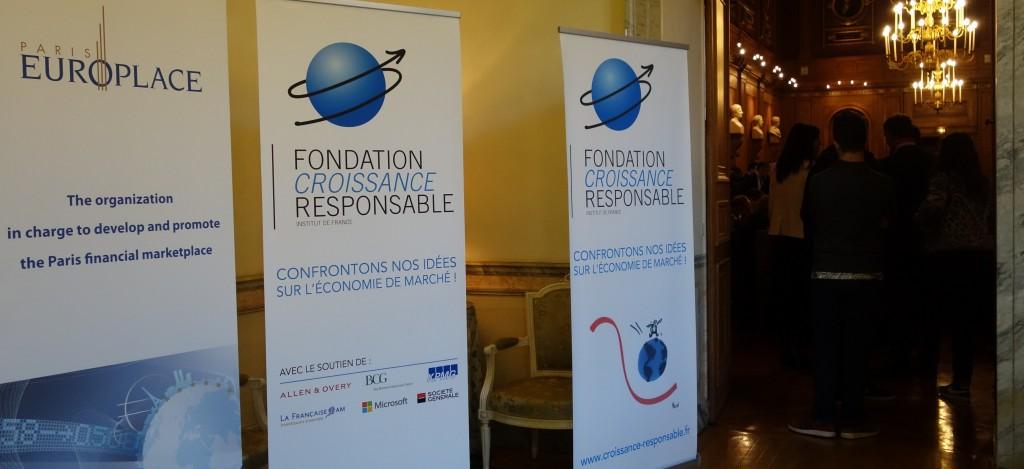 Sous l'égide de l'Institut de France, la Fondation Croissance Responsable a présenté dans cet écrin son Rapport sur La Finance Responsable. (photo © GPouzin)