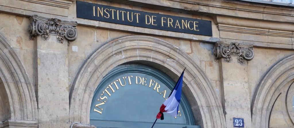 """""""Quelle finance pour une croissance responsable ?"""", interrogeait l'Académie des sciences morales et politiques en partenariat avec la Fondation Croissance Responsable sous l'égide de l'Institut de France. (photo © GPouzin)"""