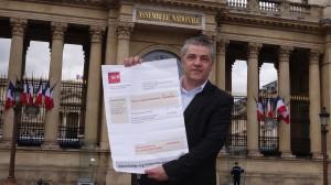 Philippe Fontfrede revendique le droit à une indemnité de rupture abusive pour les distributeurs indépendants évincés par SFR (photo © GPouzin).