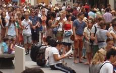 Faire appel à la foule (crowd) pour financer un projet (funding) : le crowdfunding sort de l'illégalité en France. (photo © GPouzin)