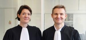 Maîtres Hélène Feron-Poloni et Nicolas Lecoq-Vallon, avocats du cabinet LecoqValonFeronPoloni, défendent les épargnants et obtiennent en justice l'indemnisation du préjudice que leurs causent certains banquiers ou assureurs indélicats. (photo © GPouzin)