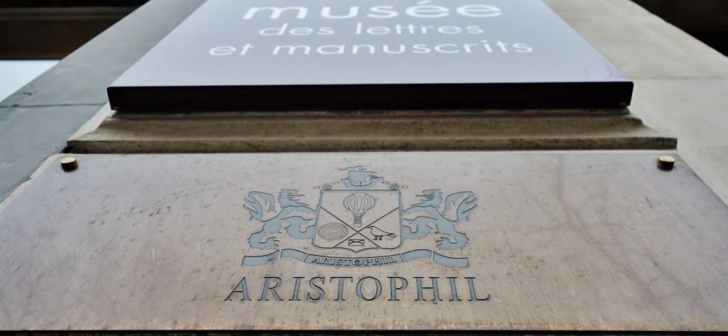 La justice enquête sur les activités d'Aristophil, promoteur des pseudo-placements en lettres et manuscrits et de leur musée, logé depuis 2010 dans l'hôtel de La Salle, somptueux hôtel particulier de Saint-Germain-des-Prés, acheté 30 millions d'euros. (photo © GPouzin)