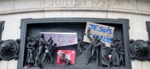 Article 10 de la Déclaration des droits de l'Homme de 1789: «Nul ne doit être inquiété pour ses opinions, même religieuses, pourvu que leur manifestation ne trouble pas l'ordre public établi par la Loi». (photo © GPouzin)