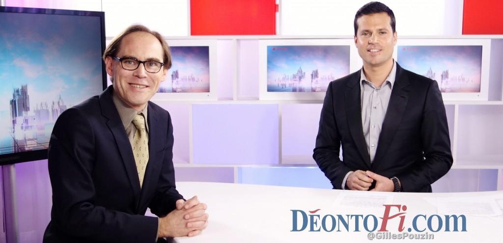 Gilles Pouzin, journaliste fondateur du site de la déontologie financière, Deontofi.com, interviewé chaque semaine par David Jacquot, dans son émission Ecorama, en direct chaque lundi midi et en replay sur Boursorama.com.