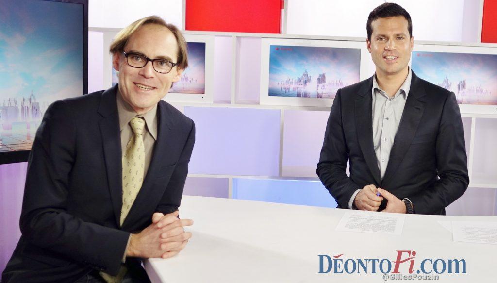 Gilles Pouzin, journaliste fondateur du site de la déontologie financière Deontofi.com, interviewé par David Jacquot dans son émission Ecorama, en direct chaque lundi midi, et en replay sur Boursorama (liens ci-dessous).
