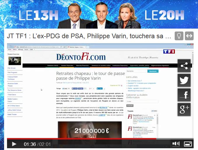 La tempête médiatique déclenchée par le scoop de Marie-Jeanne Pasquette publié sur Deontofi.com a secoué le pouvoir, début mai 2015, jusqu'au sommet de l'Etat.