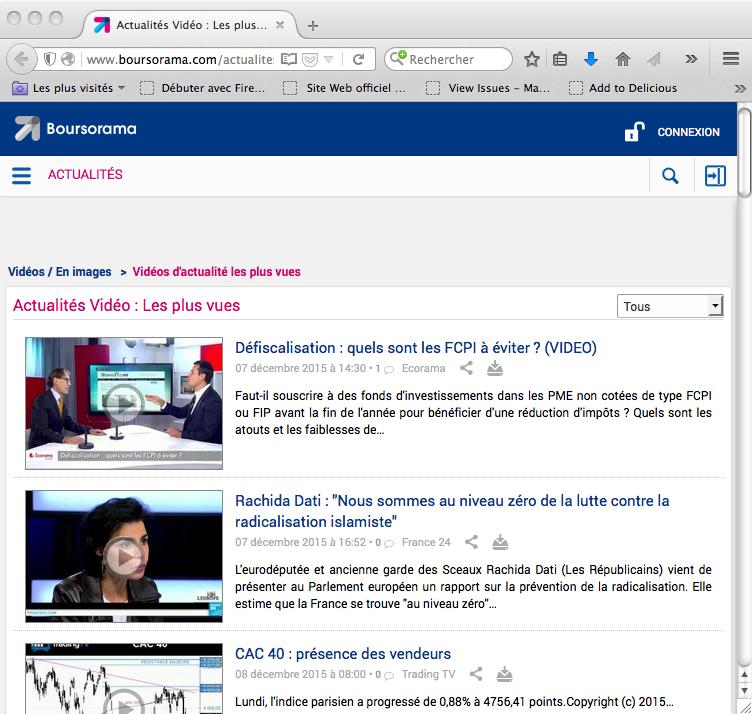 L'interview de Deontofi.com a été la vidéo la plus vue sur Boursorama.com