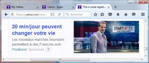 Cette pub des escrocs du trading vue sur Yahoo peut changer votre vie : faites-vous plumer en 20 min/jour !