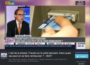 Gilles Pouzin journaliste fondateur de Deontofi.com, livre les conseils les plus consultés par les internautes pour se défendre en cas de fraude CB, sur BFM Business TV.