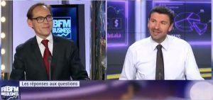 Gilles Pouzin, journaliste fondateur de Deontofi.com, répond aux questions des épargnants, dans l'émission Intégrale Placements sur BFM Business TV, avec Guillaume Sommerer.